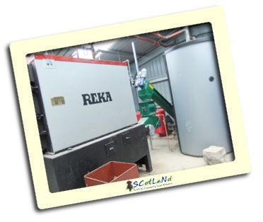woodchip boiler system